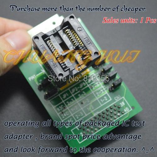 300mil SOP16/SOIC16 socket HEAD-SEEP-SOP16 Programmer adapter for GANG-08 Programmer iso7240cdw iso7240cdwr iso7240 sop16