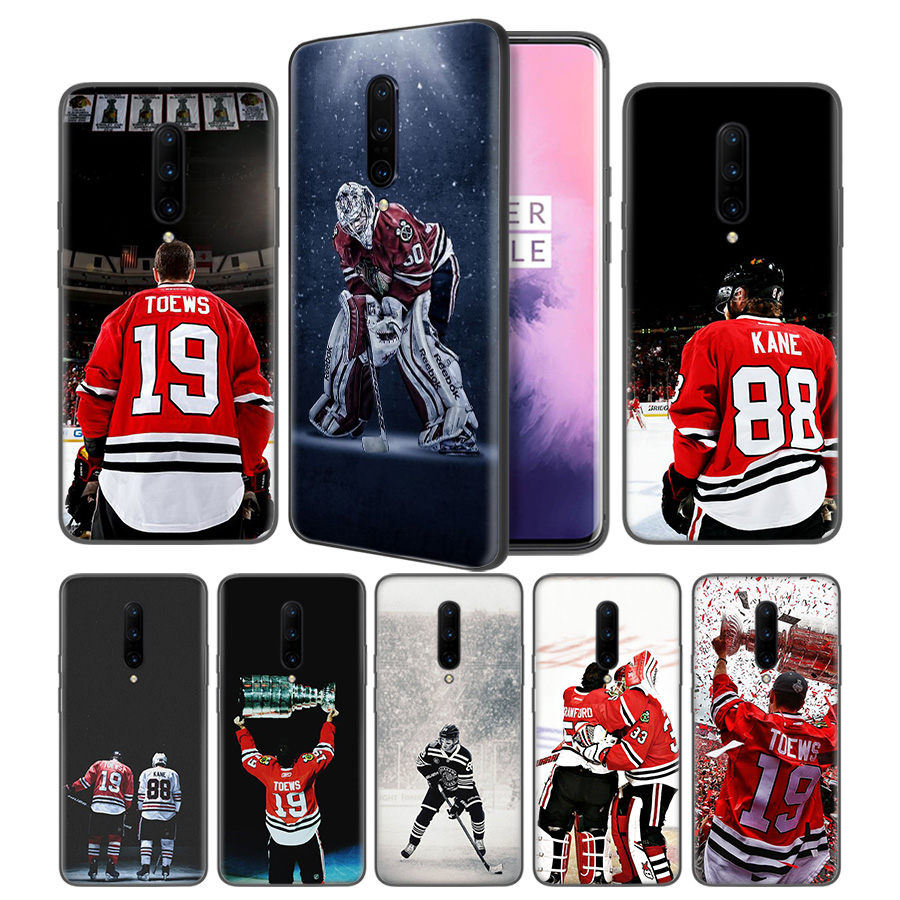 Kane Ice Hockey Soft Black Silicone Case Cover for font b OnePlus b font 6 6T