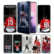 Kane Ice Hockey Soft Black Silicone Case Cover for OnePlus 6 6T 7 Pro 5G Ultra-thin TPU Phone Back Protective