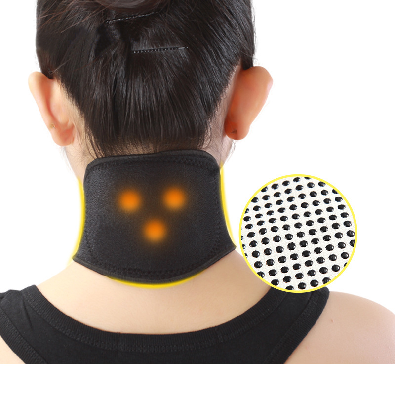 Tourmaline Magnetic Therapy Neck Massager Cervical Vertebra Protection Band Spontaneous Self Heating Belt