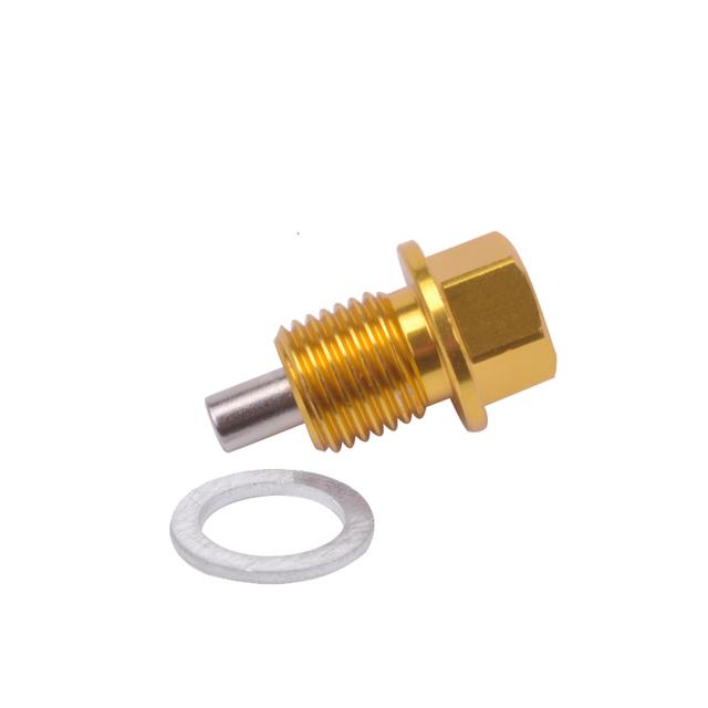 Speedwow M14*1.5 Magnetic Oil Drain Plug Magnetic Oil Sump Nut