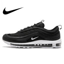 Original Official Nike Air Max 97 Men s Breathable Running Shoes Sports  Sneakers Men s Tennis Classic Breathable fa88e4585