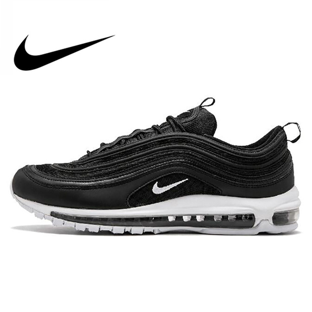 Original Official Nike Air Max 97 Men's Breathable Running Shoes Sports Sneakers Men's Tennis Classic Breathable Low-top Classic