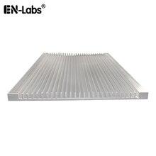120x7x100/150/200 мм радиатор Алюминий радиатора ультра-тонкий теплоотвод светодиодный IC электронный рассеивание тепла охлаждение кулер