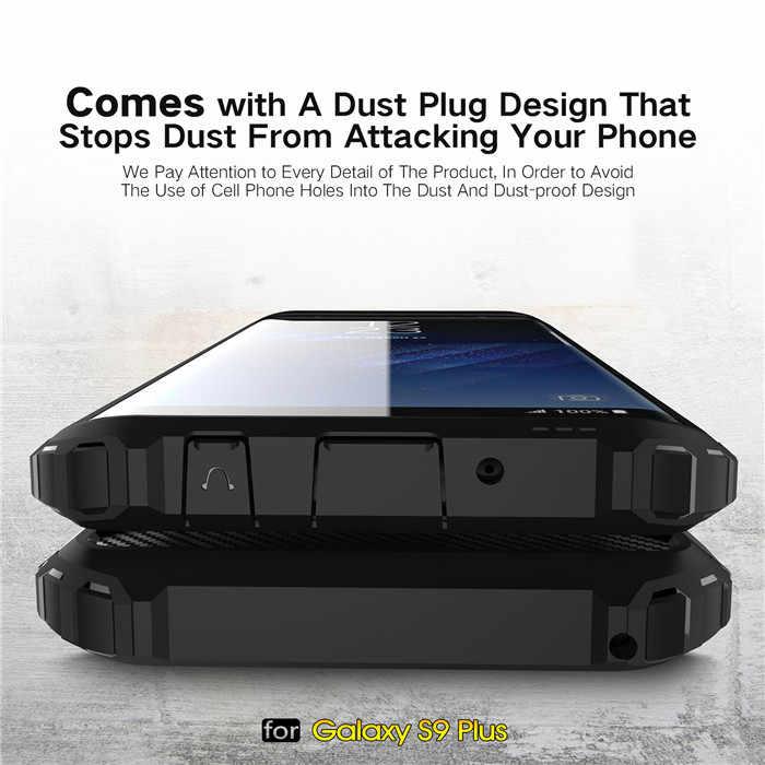 Disco híbrido PC TPU Macio De Silicone Para Samsung Galaxy S7 S6 Borda Mais S8 S9 Plus A6 A8 Plus 2018 a9 Star Lite Nota 9 8 5 4 Caso