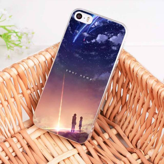 MaiYaCa Kiminonawa Your Name Japanese anime cover mobile phone Case for iphone 11 pro 8 7 66S PlusX 10 5S SE XR XS XS MAX cover