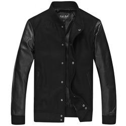 Men genuine leather jacket brand fashion patchwork male motorcycle biker real sheepskin leather jackets china spring.jpg 250x250