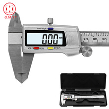 цена на Measuring Tool Stainless Steel Digital Caliper Messschieber Paquimetro 6 150mm Measuring Instrument Vernier Calipers