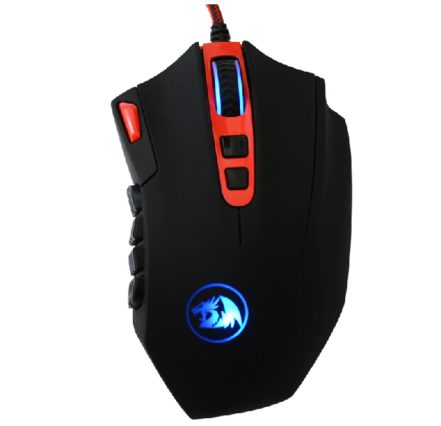 Здесь можно купить  RedDragon Wired Laser E-sports Gaming Mouse Customizable Programming Backlight Breathing LED 16400CPI 18 keys RedDragon Wired Laser E-sports Gaming Mouse Customizable Programming Backlight Breathing LED 16400CPI 18 keys Компьютер & сеть