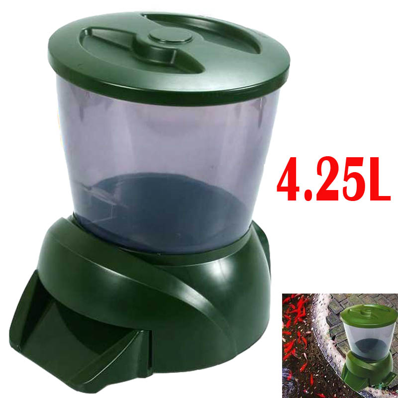 pond fish feeder youtube watch automatic ffaz