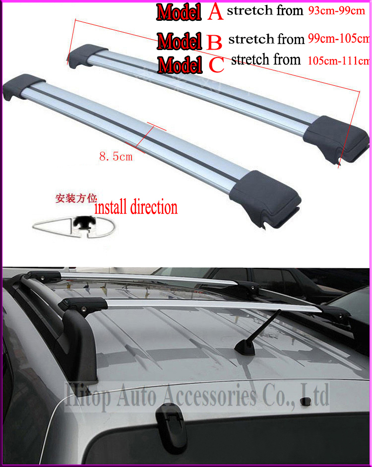 universal roof rack cross bar for tiguan hanglander ix35. Black Bedroom Furniture Sets. Home Design Ideas