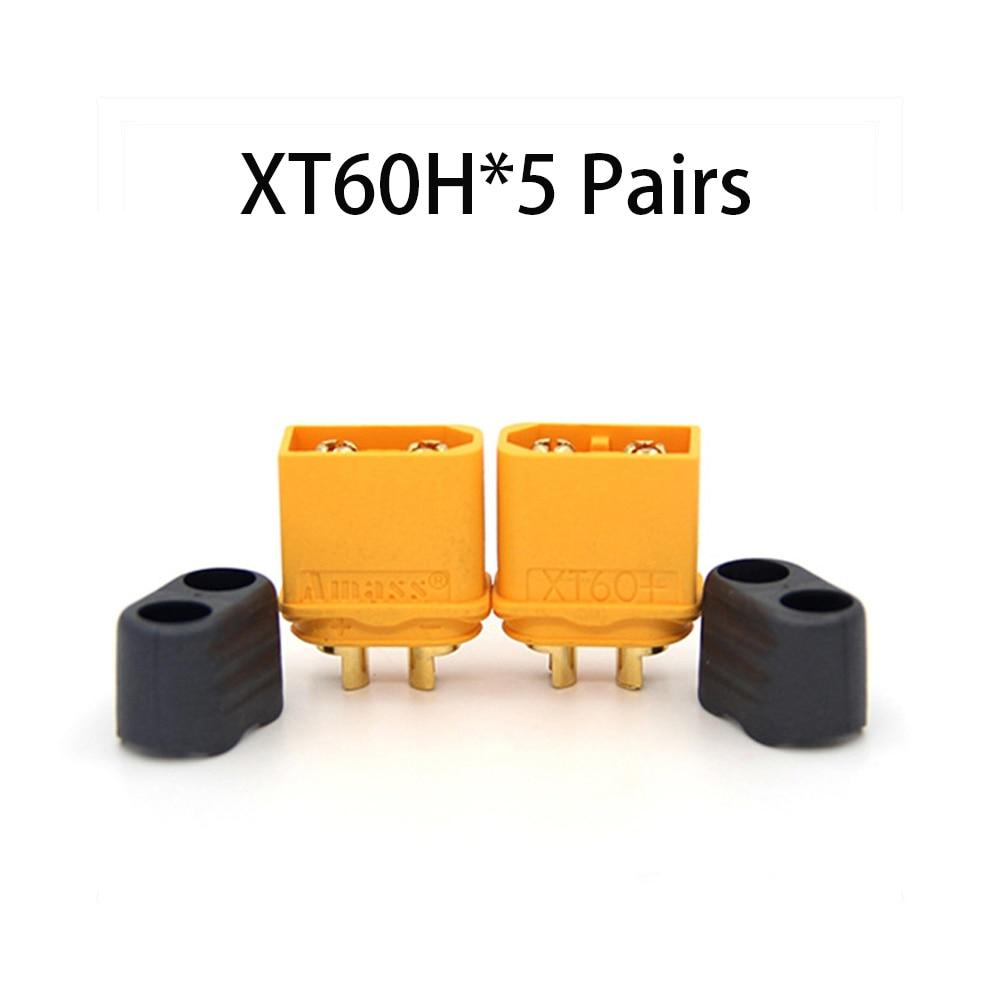 Коннектор AMASS 10 шт. XT60 XT-60 XT 60 XT90 XT60H XT60L XT60U XT60PW XT30U XT90S T Дин EC3 EC5 AS150 XT150 XT30PW XT90PW для Lipo Батарея - Цвет: XT60H