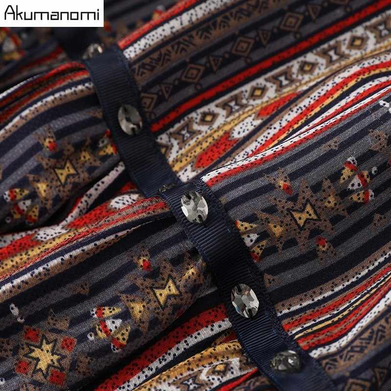 Vestido de raso de rayas de verano ropa de mujer con cuentas cuello redondo llamarada media manga vestido de alta calidad de talla grande 5XL 4XL 3XL 2XL XL L M