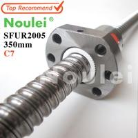 Noulei 2005 C7 350mm Ball Screw With SFU2005 5mm Lead Screw Nut Of SFU Set End