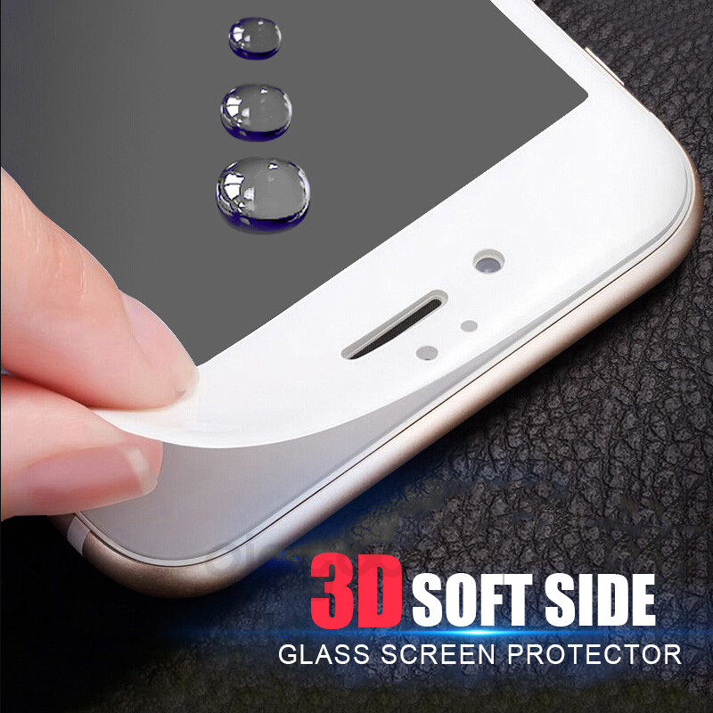 Tempered Glass Direct Selling 3D Soft edge Full Cover закаленного gla S для iPhone 7 6 6 S Plus Экран протектор для iPhone 6 6 S gla S seamle s покрытия