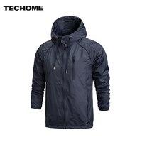 2016 Autumn New Men Sports Jacket Outdoor Sportswear Men Fashion Thin Windbreaker Jacket Zipper Coats Outwear