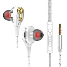 Earphones  3 Colors With Built-in Microphone 3.5mm In-Ear  Earphone For Smartphones For iphone for Samsung цена в Москве и Питере