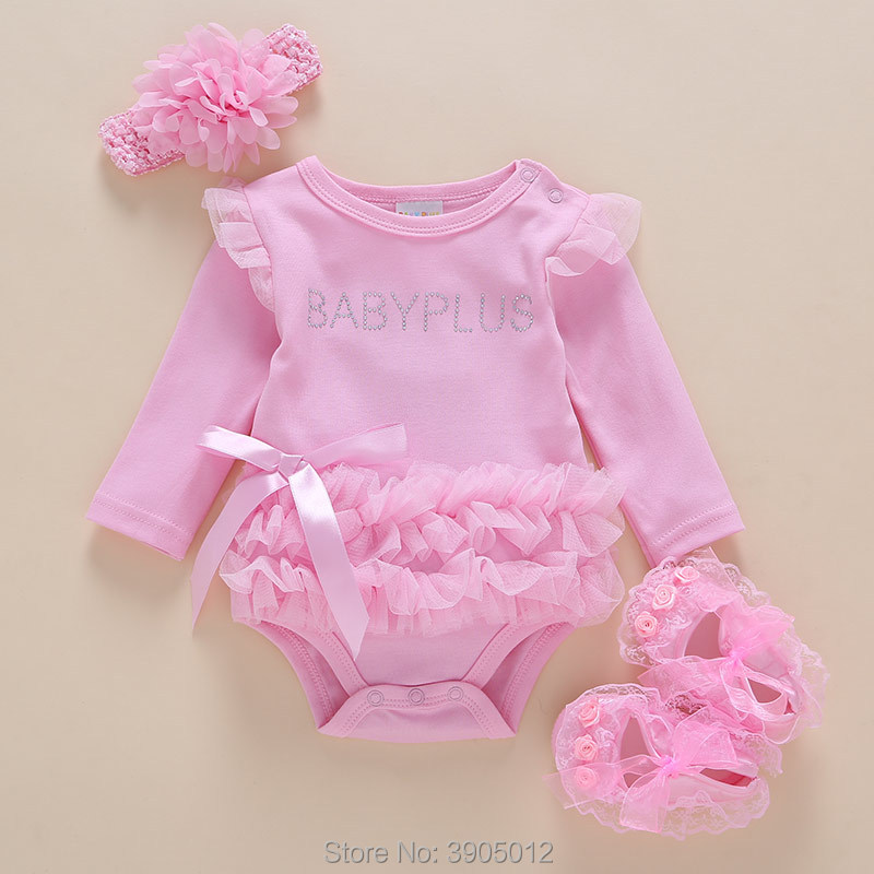 2018 Sale Baby Rompers Infantil Newborn Infants Spring Clothes Female 0 Full Princess 3 Months 6 Set 1 Year Old Summer Cotton