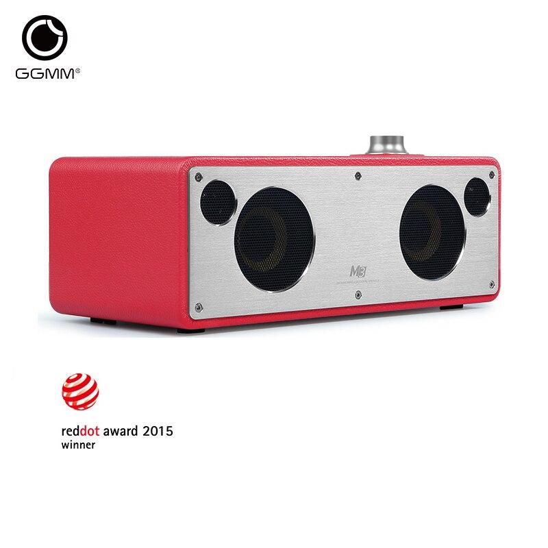 GGMM M3 WiFi Speaker Wireless Bluetooth Speaker Audio Receiver Stereo Music System Subwoofer Computer HiFi Speakers Loudspeaker