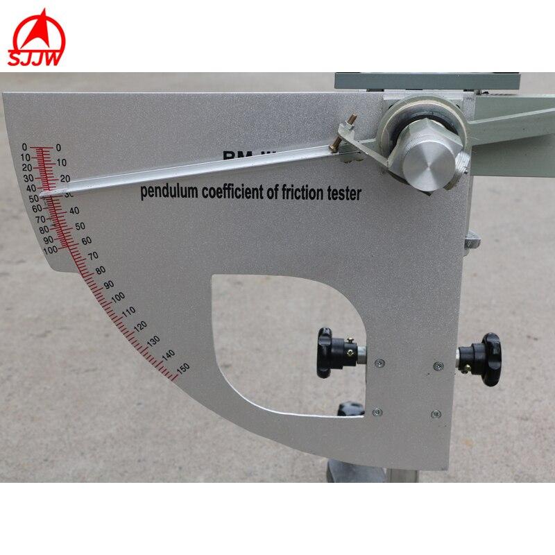 Dérapage de pendule d'appareil de contrôle de résistance de dérapage M pour l'essai de Surface de route de laboratoire et In Situ