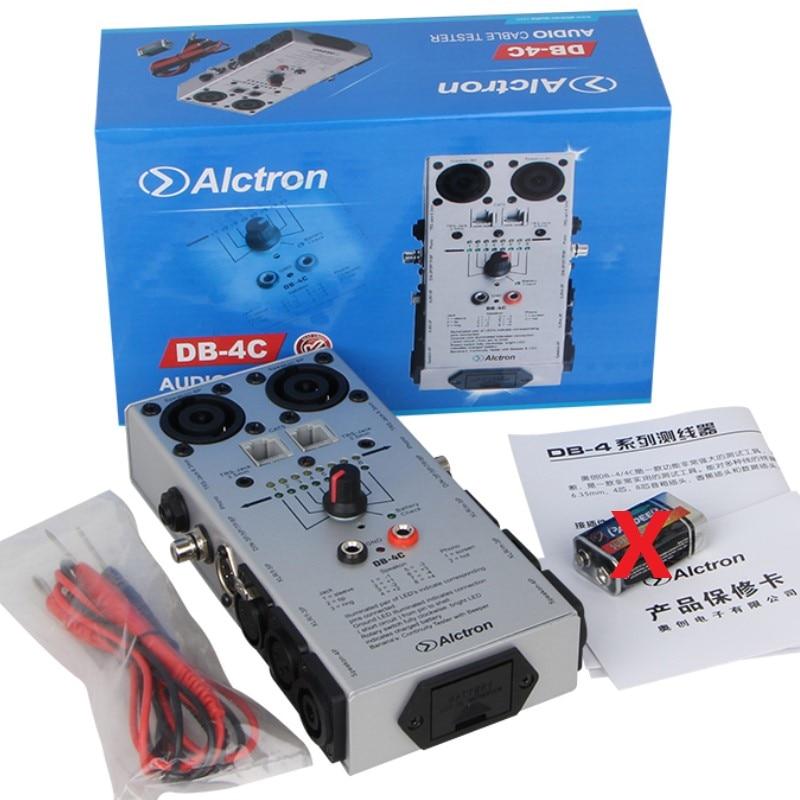 Free shipping Alctron DB 4C TRS XLR RCA 1 4 1 8 2 4 8 Pin