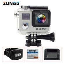"SUNGO Action Camera 4 K remoto WiFi Full HD 1080 P 24fps tela de 2.0 ""LCD 20MP CÂMERA de 170 de largura 30 m à prova d' água Mini câmera de esportes Capacete Cam"