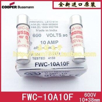 FWC-10A10F US BUSSMANN fuse fuse tube 10A 600V 10 \u0026 times; 38mm