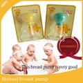 Extractores de leche bebé bomba de leche de succión del pezón pezón PP sacaleches Manual de Productos para Bebés mujeres Alimentación