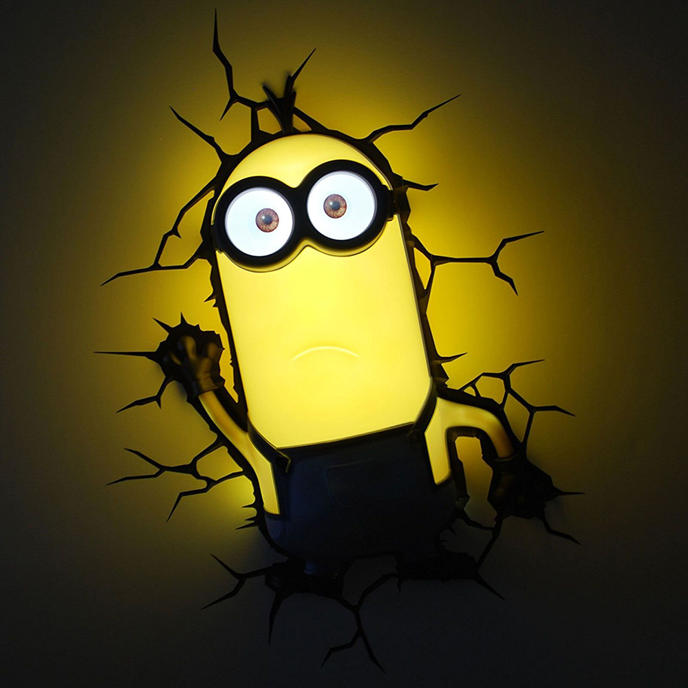 Aliexpress.com : Buy GUXEN Minions Kevin 3D Cartoon Creative Deco ...