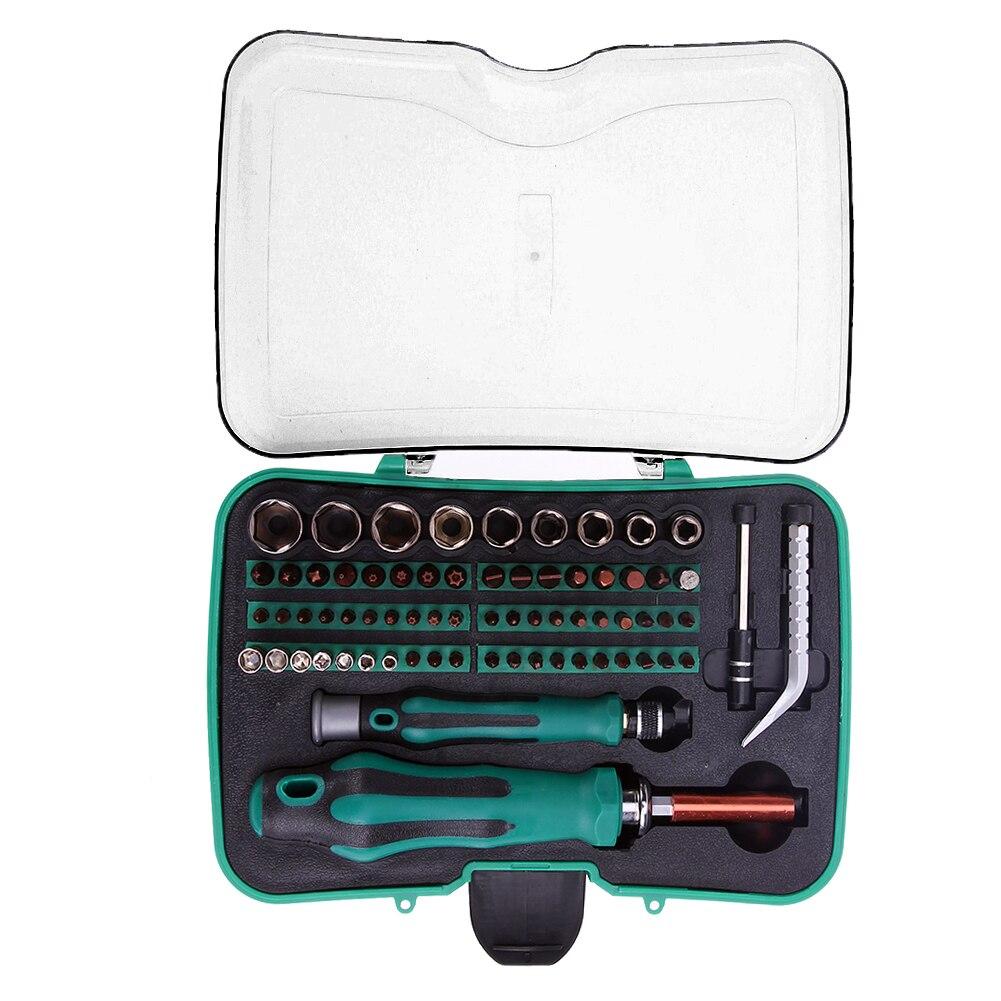 Professionnel 70 en 1 Multifonctionnel Précision Jeu de Tournevis De Réparation D'outils À Main Kit pour Téléphone Mobile PC Ménage Outils Ensemble