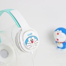 Sevimli Kulaklıklar Hello Kitty Karikatür Büyük Kulaklık iphone Samsung Cep Telefonları için Doğum Günü Hediyeleri çocuk Şeker R...