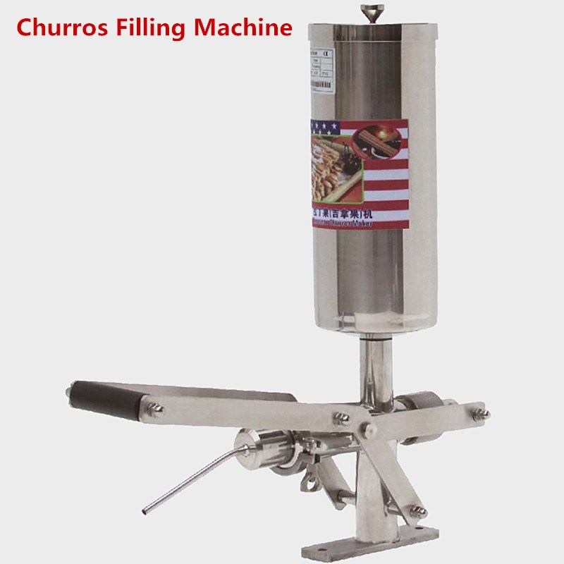 Best Sale Commercial 5L Churros Filling Machine In Snack Machines/Churros Filler Machine for small business 2l manual churros making machine for sale best quality churros maker