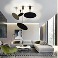 Скандинавское искусство рассады спальни Led подвесной светильник Минималистский дизайн кухни гостиной подвесные светильники Бесплатная до...