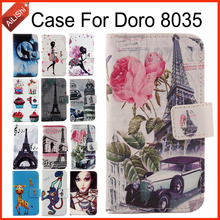 цены AiLiShi Case For Doro 8035 Luxury Flip Painted Leather Case 8035 Doro Exclusive 100% Special Phone Cover Skin+Tracking In Stock