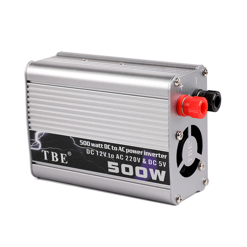 500W Car Inverter DC 12v AC 220v 50Hz Auto Inverter 12 220 Cigarette Lighter Plug Power Converter Inverter Peak Power 1000W image