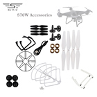 T35 SJRC S70W Repair Parts Propellers Blades Landing Motor Bearing Replacement