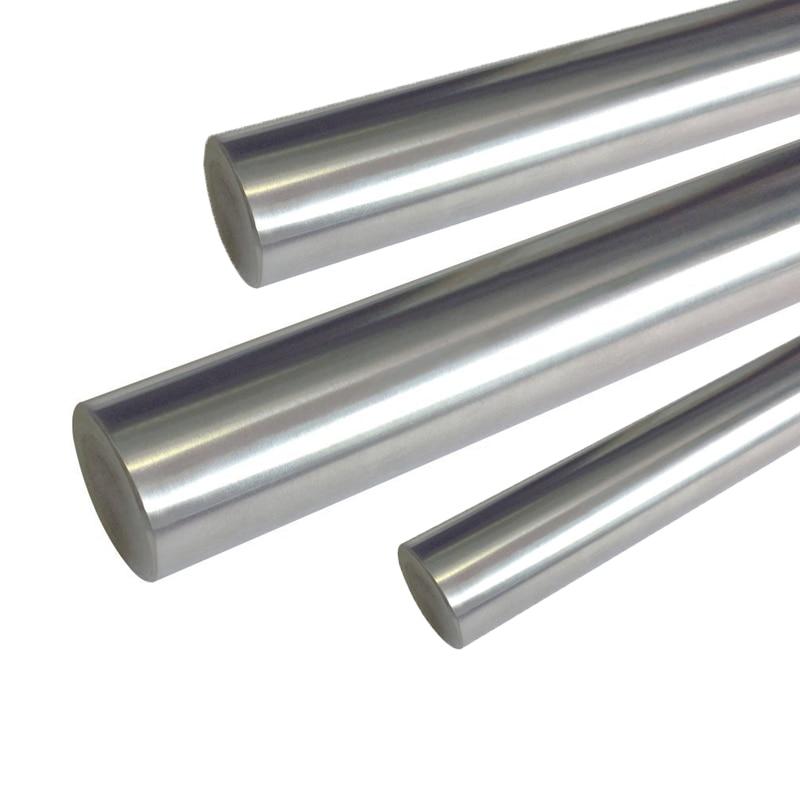 4pcs Precision Cylinder Linear Rail Shaft 8mm * 250mm linear shaft rail high precision guideway linear rail unit