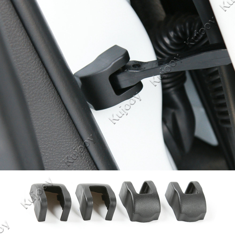 Rear View Mirror Base Trim Decoration Covers For Jeep Compass 2017 Accessories
