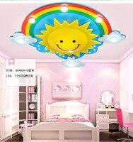 Радуга Лампа Потолочные Светильники LED облако глаз лампа мужской девушка спальня исследование цветок лампы lu721174