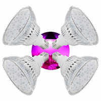 (4pcs/Lot) E27 54W Led Grow Lights Full Spectrum For Indoor Garden Hydroponics Flowering Plant Greenhouse Tent Growth Lamp