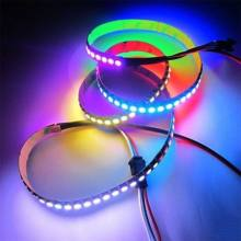 WS2812B 5050 RGB LED Strip 1 M 30 LED Individu Addressable Garis Cahaya(China)