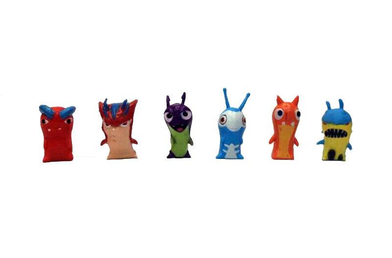 24x SLUGTERRA elementare SLUG Kid Toy Cartoon PVC Figura Decorazione Regalo Di Compleanno