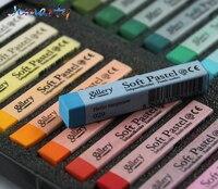 12 24 36 48 Colors Soft Pastels Drawing Set Art Set Soft Crayon Hair Chalk Hair