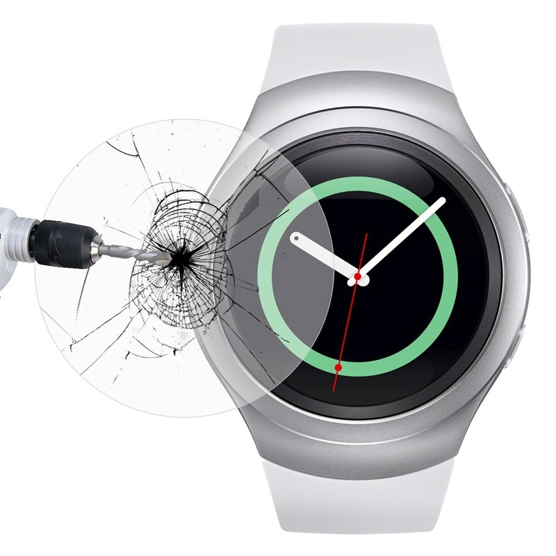 Tempered <font><b>Glass</b></font> For <font><b>Samsung</b></font> Gear S4 Sport <font><b>S3</b></font> S2 <font><b>Neo</b></font> Active 2 40mm 44mm 40 44 mm Active2 Classic Smart Watch Screen Protector Film image