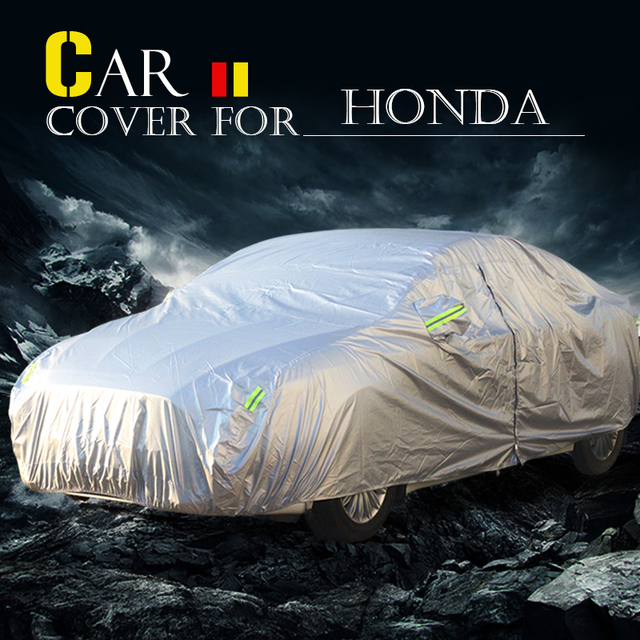 Car Cover Sun Shield Rain Snow Protection Cover Anti-UV Waterproof For Honda Element FR-V Passport Legend Airwave Insight City