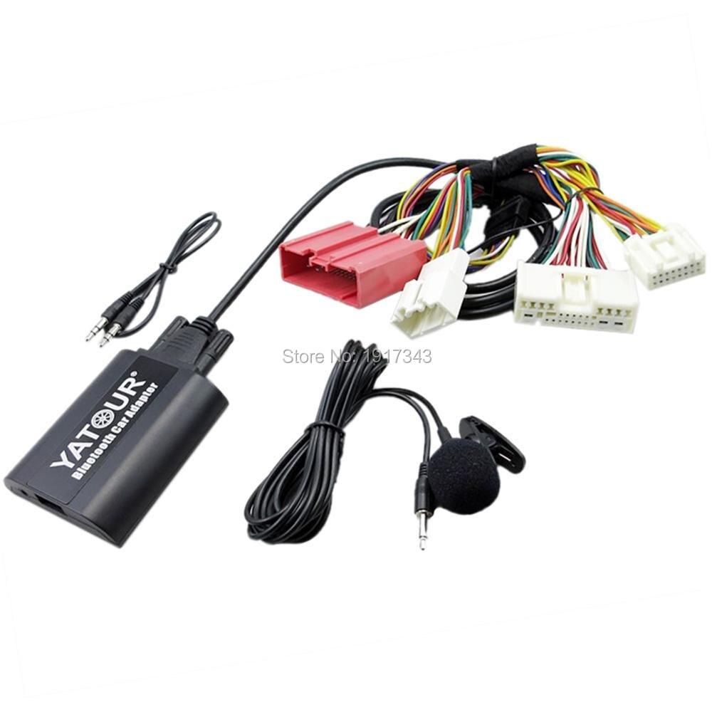 Yatour Bluetooth Car Adapter Digital Music zmieniarka CD - Elektronika Samochodowa - Zdjęcie 3