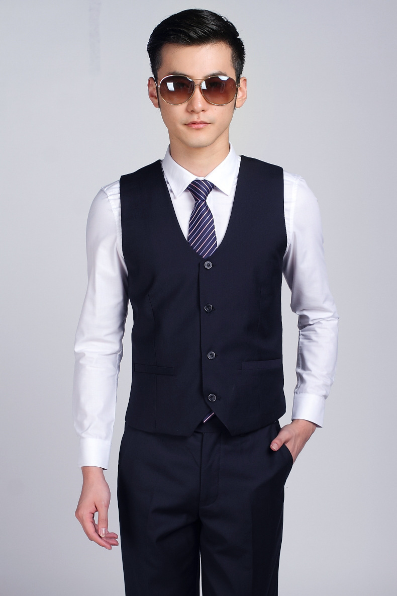 Online Get Cheap Navy Blue Suit Vest -Aliexpress.com | Alibaba Group