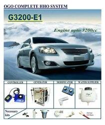 Ogo Compleet Hho Systeem G3200-E1 Smart Pwm Kaart/Maf Tot 3200CC Universal Cars