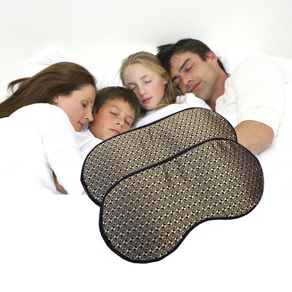 A ptoco Eyes Care Tourmaline magnetic therapy Anti-Fatigue Eyes Massager Sleep/Travel Eyepatch Mask Eye shade Mask Blindfold