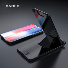 Three Coil Qi Wireless Charger For iPhone X Xs MAX XR 8 plus Fast Charging Charger